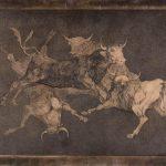 F. Goya, matryca go grafik z cyklu Disparates , źródło: louvre.fr