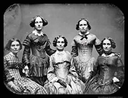 The Clark_Sisters Daguerreotype 1845