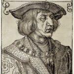 Albrecht Dürer Bildnis Kaiser Maximilians I., um 1519 Albertina, Wien