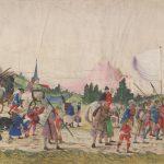 © Albrecht Altdorfer und Werkstatt Tross aus dem Triumphzug Kaiser Maximilians I., um 1512-1515 Albertina, Wien