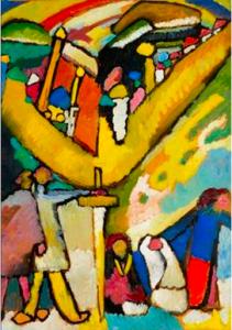Wassily Kandinsku, Studium do Improwizacji numer 8, 1909