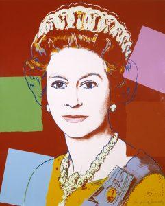 Queen Elizabeth II of the United Kingdom 1985 by Andy Warhol 1928-1987, źródło: tate.org