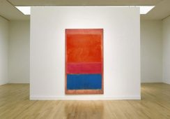 Mark Rothko,No.1 Royal, Red, and, Blue, 1954, źródło:xtravaganzi.com