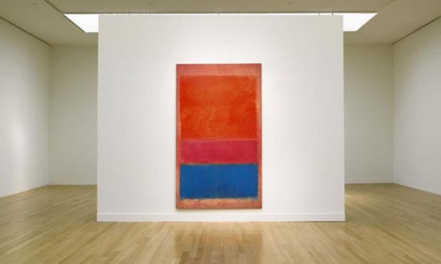 Mark Rothko,No.1 Royal, Red, and, Blue, 1954, źródło:xtravaganzi.com