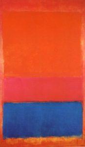 Mark Rothko,No.1 Royal, Red, and, Blue, 1954, źródło:artmarketmonitor.com.com
