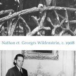 Nathan i Georges Wildenstein, źródło: wildenstein-institute.fr