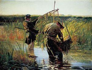 Leon Wyczołkowski, Rybacy, Źródło: postergaleria.pl