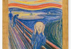 Krzyk Muncha w nowojorskim Museum of Modern Art