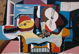 Pablo Picasso, Gitara i mandolina,źródło: guggenheim.org