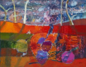 Kasia Banaś, Majowe popołudnie, olej na płótnie, 120x150cm, fot. dzięki uprzejmości artystki