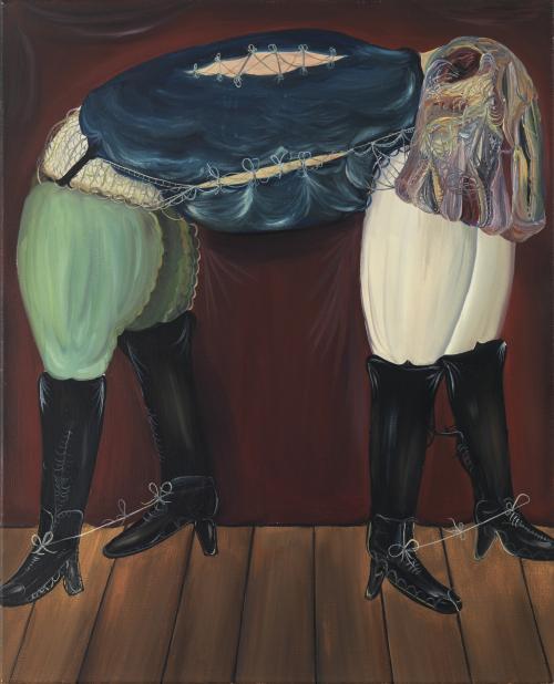 Tomasz Kowalski, bez tytułu, 80 x 65, 2008, oil on canvas, courtesesy Cartier/Gebauer, Berlin