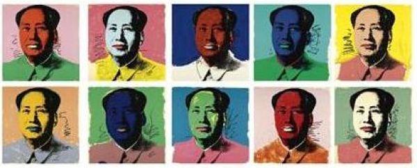Andy Warhol, Mao, źródło: sotheby's