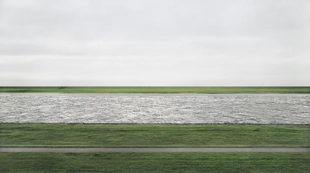 Andreas Gursky, Rhein II (1999), $4,338,500, źródło: christies