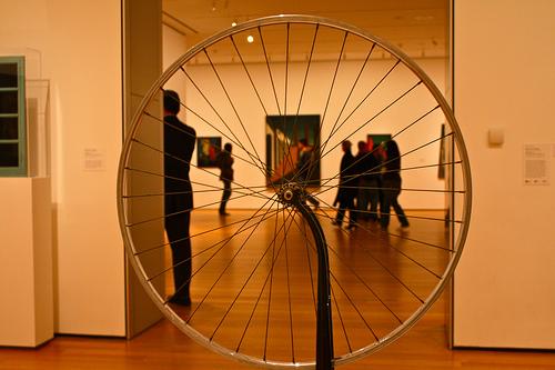 Marcel Duchamp, Koło rowerowe, źródło: MoMA