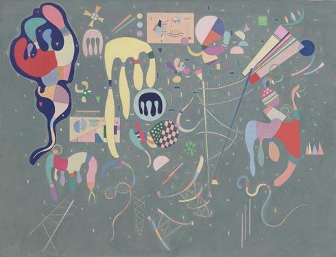 Wassily Kandinsky, Various Actions (Actions variées), 1941, źródło: guggenheim.org