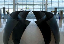 Richard Serra, Terminal 1 Pier F, YYZ Toronto
