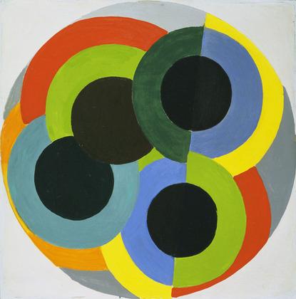 Robert Delaunay, Disks, źródło: moma.org