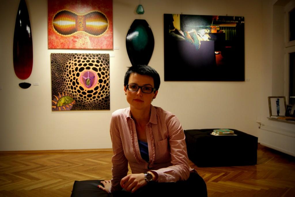 Zofia Olesińska, Galeria Socato, fot. Kama Wróbel