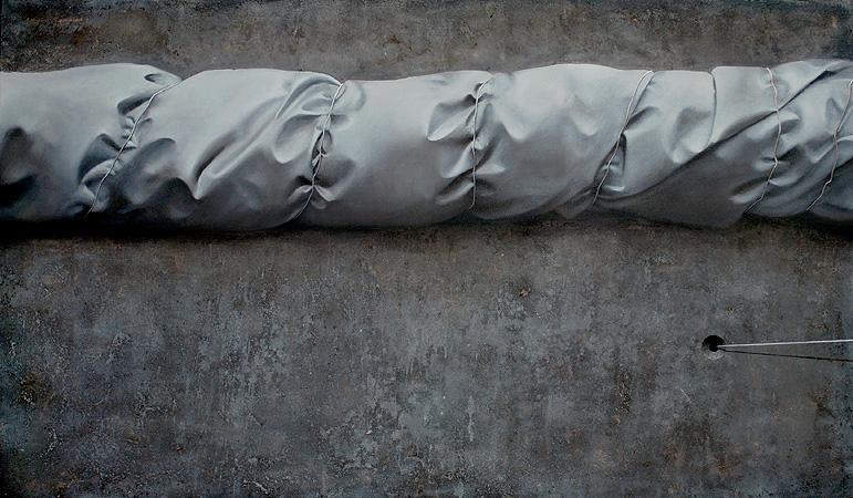 Daniel Krysta, Rewers 70x120cm 2011, źródło:danielkrysta.com
