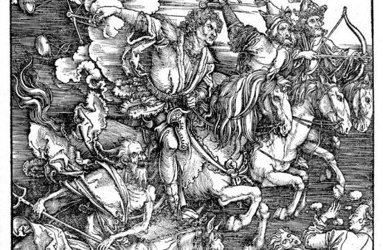 Albrecht Durer, Czterej Jeźdźcy Apokalipsy, źródło: Staatliche Kunsthalle
