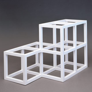 Sol LeWitt, Open Geometric Structure 2-2,1-1, 1991,źródło: The LeWitt Collection, Chester, CT.