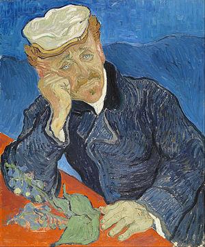 Vincent van Gogh,  Portrait of Dr Paul Gachet (1890), źródło:Google_Art_Project