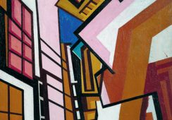 Wyndham Lewis, Workshop, 1914–15 źródło: Tate