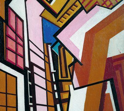 Wyndham Lewis, Workshop, 1914–15 źródło: Tate