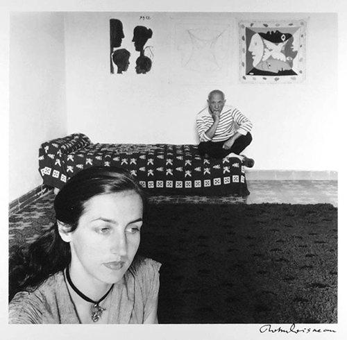 Picasso i Françoise Gilot., źródło:tumblr.com