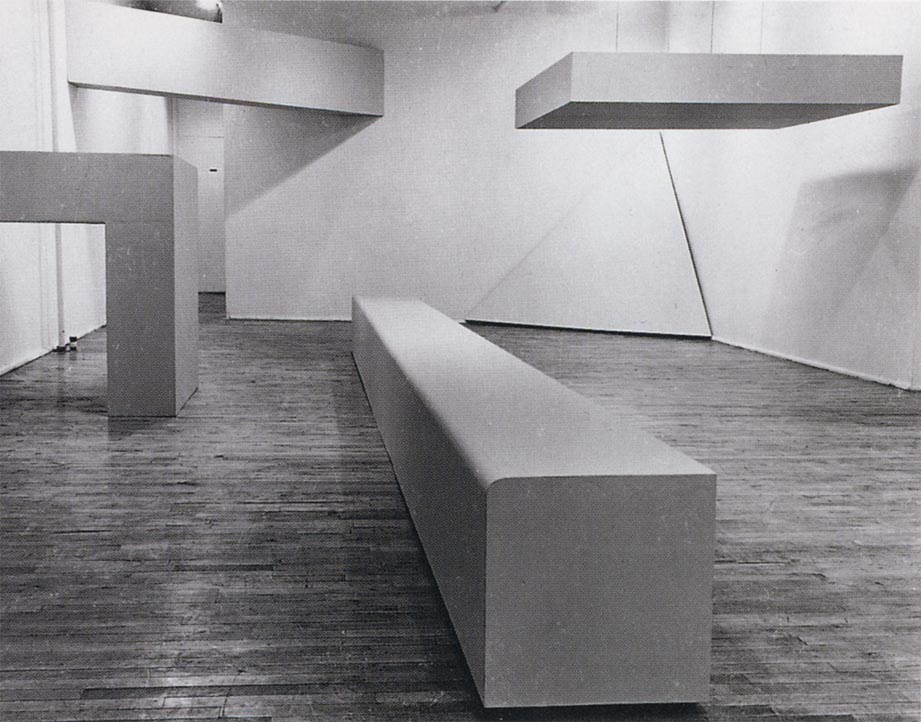 Plywood Show. Robert Morris. Plywood Show. 1964, źródło: theslideprojector.com