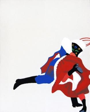"Elżbieta Merta, ""Tan, tany V"", akryl, 50x40 cm, artpower.pl"