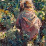 "Marta Lipowska, ""Poziomki XI"", 50x40 cm, artpower.pl"