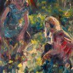 "Marta Lipowska, ""Poziomki IX"", 80x60 cm, artpower.pl"