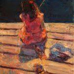"Marta Lipowska, ""Z podróży VI"", 60x50 cm, artpower.pl"