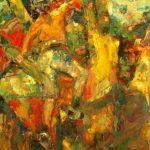 "Marta Lipowska, ""Wybrany fragment 120"", 60x70 cm, artpower.pl"
