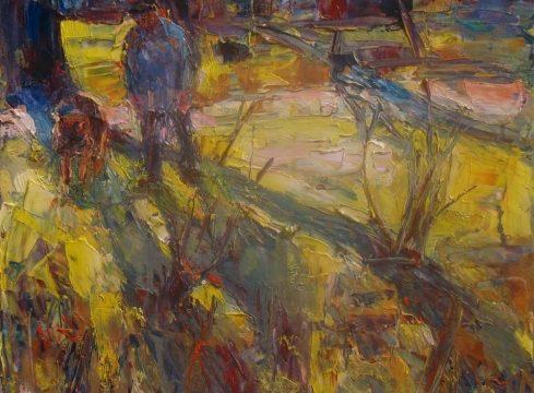 """Marta Lipowska, """"Wiosna II"""", 40x50 cm, artpower.pl"""