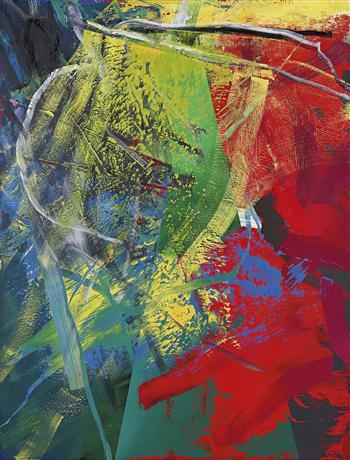 GERHARD RICHTER Kegel (Cone), 1985, źródło:phillipsdepury.com