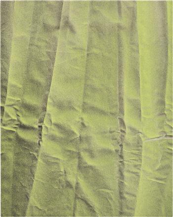 TAUBA AUERBACH Untitled (Fold), 2010, źródło: phillipsdepury.com