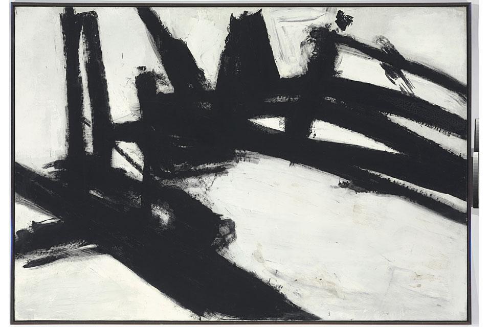 Franz Kline, Untitled, 1957, źródło: Christies.com