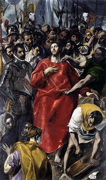The Disrobing of Christ (El Espolio), źródło:Sacristy of the Cathedral, Toledo