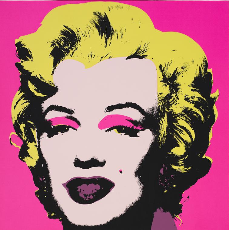 Andy_Warhol_Marilyn_Monroe_1964 , materiały organizatora