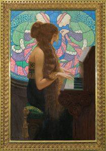 """Edward Okuń """"Musica Sacra"""", 1915 r., Dom Aukcyjny Agra-Art"""