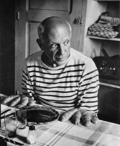 Robert Doisneau, Pains De Picasso, Vallauris, źrodło: Sotheby's
