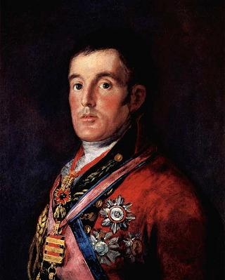 Francisco de Goya, Duke of Wellington, źródło:National Gallery
