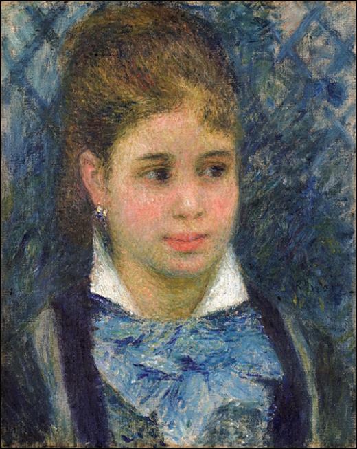 Auguste Renoir, Young Parisian, źródło: Muzeum Narodowe w Sztokholmie