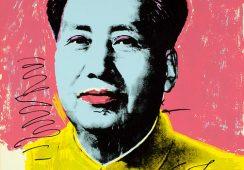 Portrety autorstwa Warhola zdjęte z wystawy w Chinach