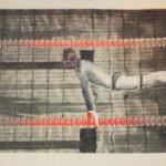 """Sławomir Wydra, """"Basen"""", litografia, 50x70 cm, Onamato/artpower.pl"""