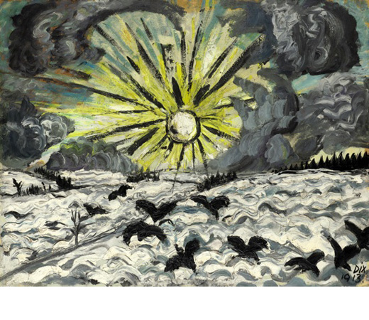 Otto Dix, Sonnenaufgang, fot.Grisebach