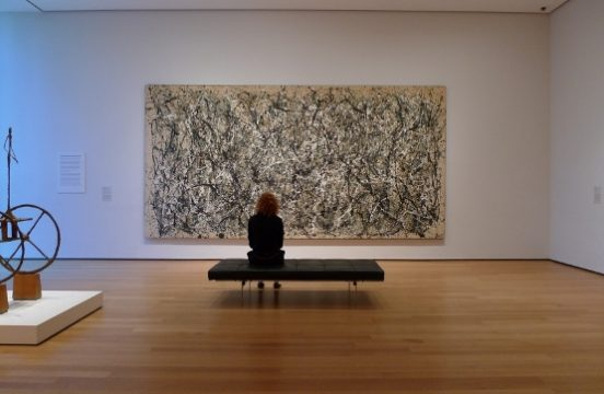 Jackson Pollock, One: Number 31, 1950 źródło: moma.org
