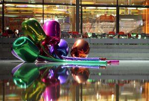 Jeff Koons, Tulipany, Źródło: Christie's